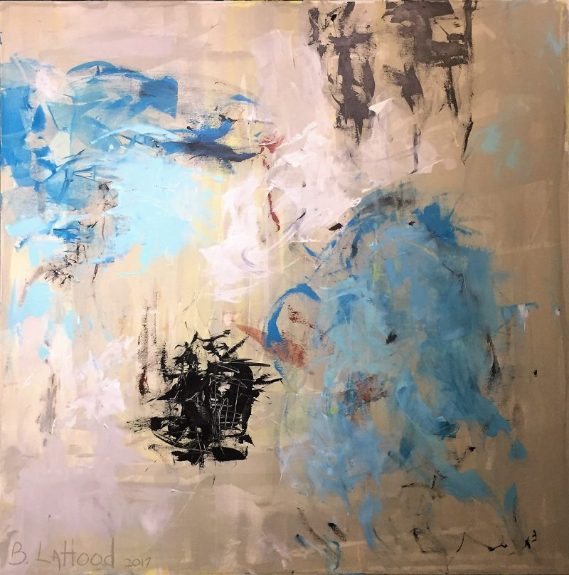 Abstract 2 Painting by artist Buddy LaHood