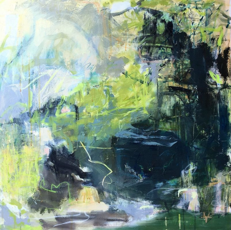 Abstract Landscape Painting by Artist Buddy LaHood