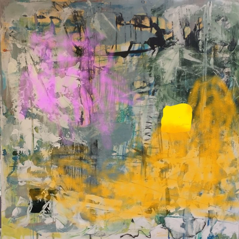 Abstract Painting by Artist Buddy LaHood
