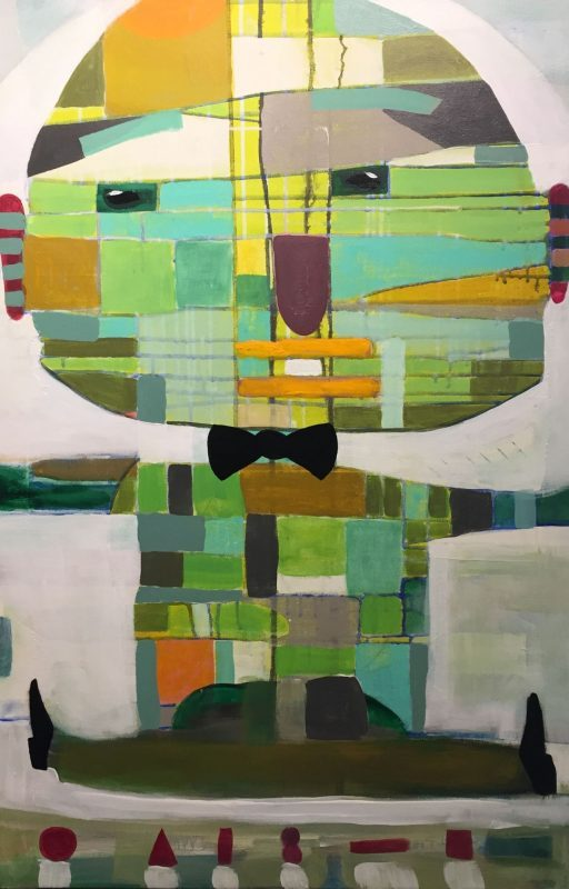 Bow Tie Abstract Painting by Artist Buddy LaHood