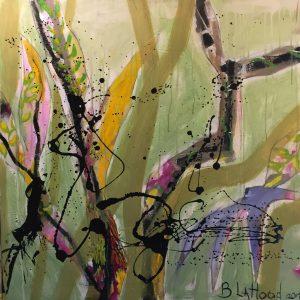 Encroaching Vines Painting by artist Buddy LaHood