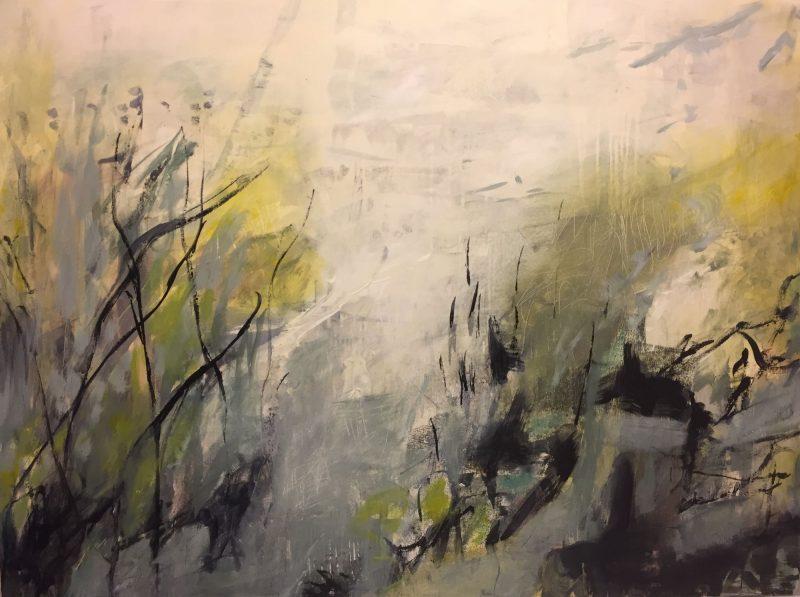 Fog on the Marsh painting by artist Buddy LaHood