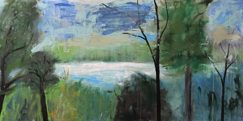 Landscape Painting by Artist Buddy LaHood