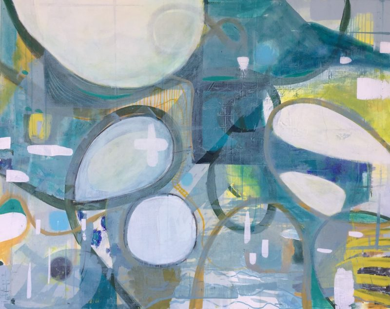 Rounds Abstract Painting by Artist Buddy LaHood
